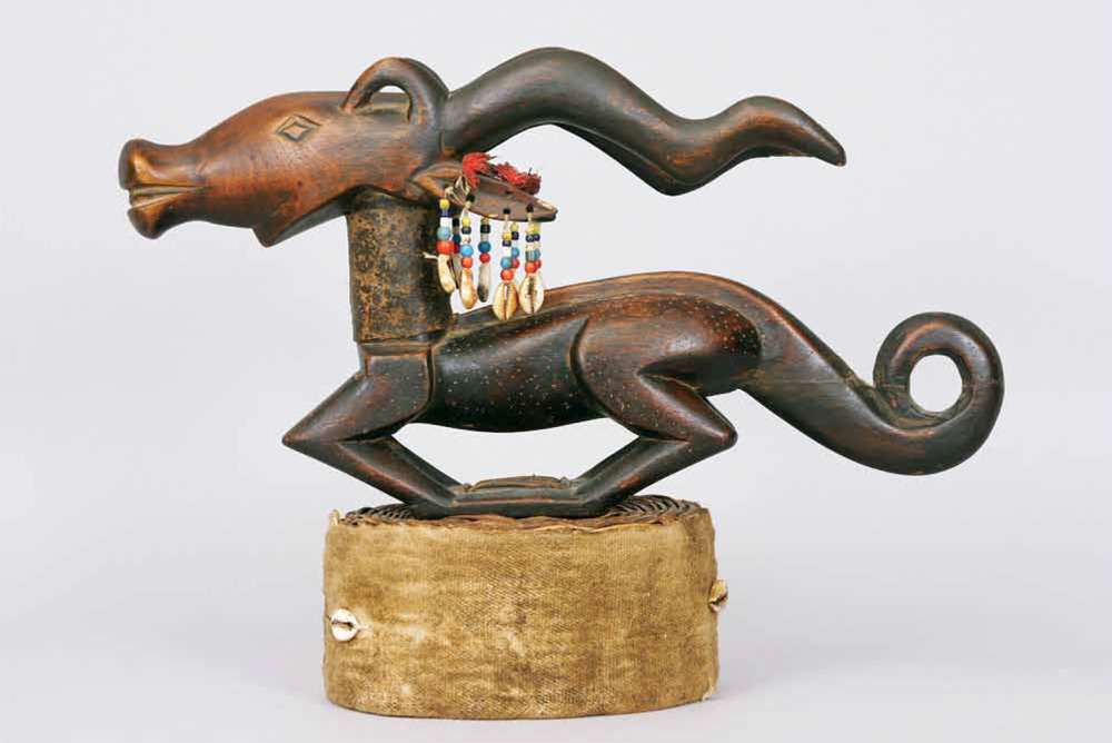Antelope Headdress_Early 20th century Artist Unknown Bamana, Chi Wara Wood