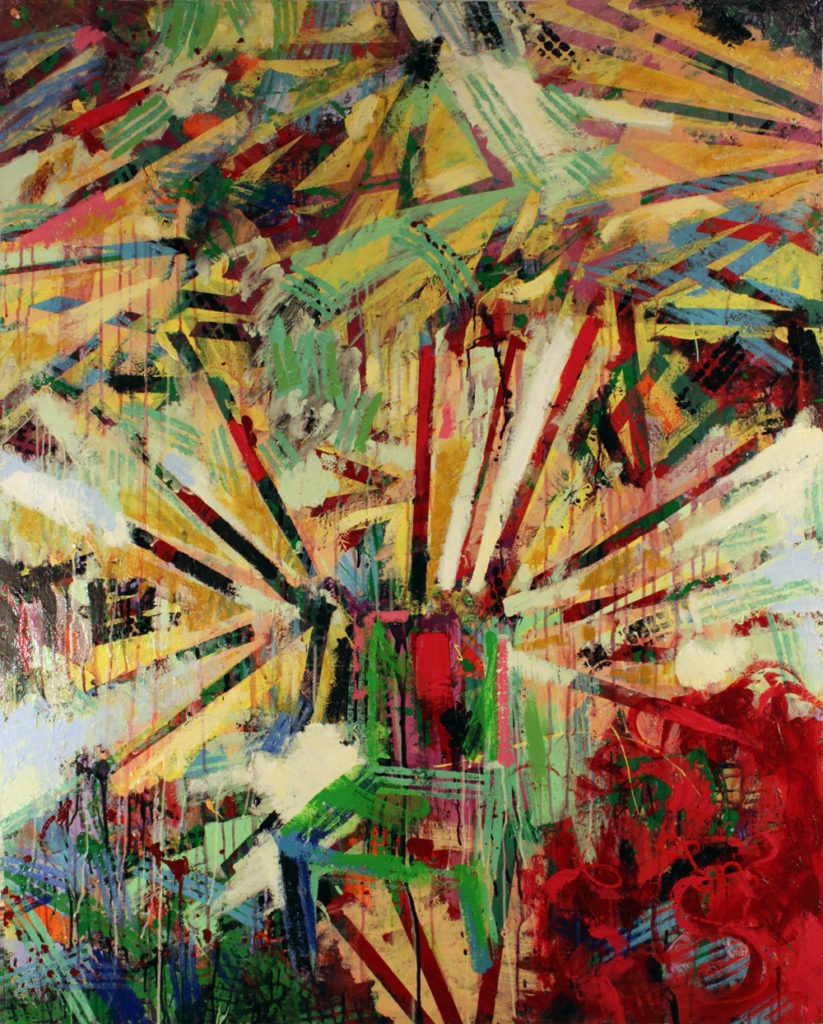 Bright Stars at Night, Green Chair, 2006