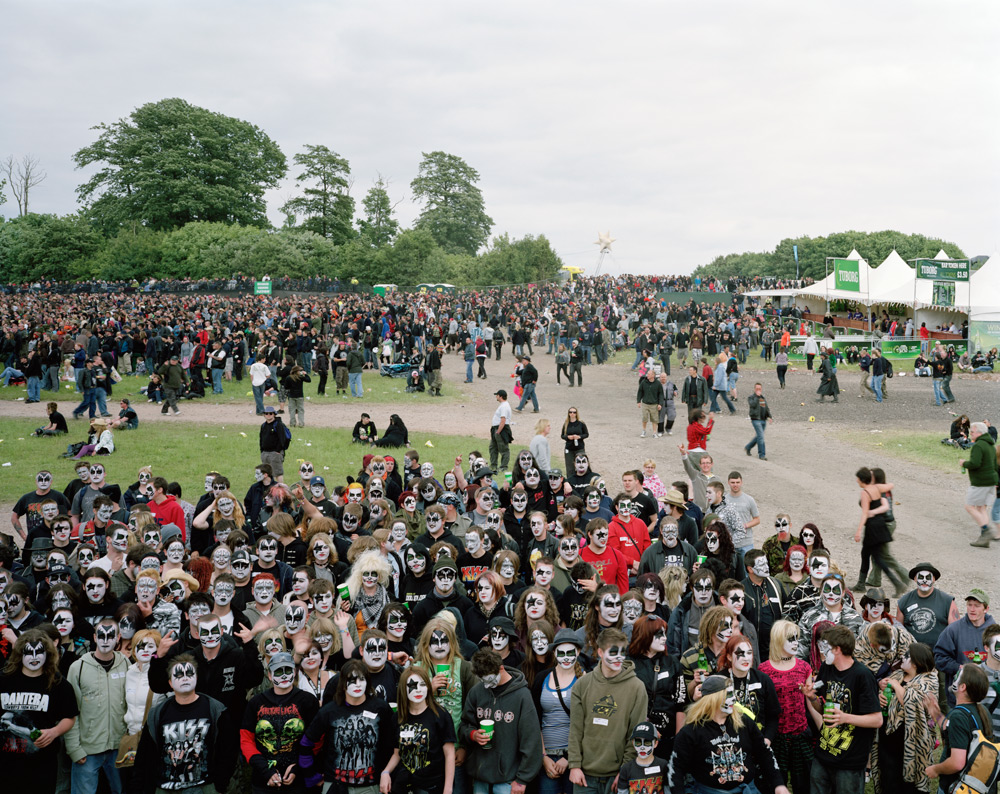 Download Festival, Donington Park, Castle Donington, Leicestershire, 13 June 2008 © Simon Roberts, Courtesy of Flowers Gallery