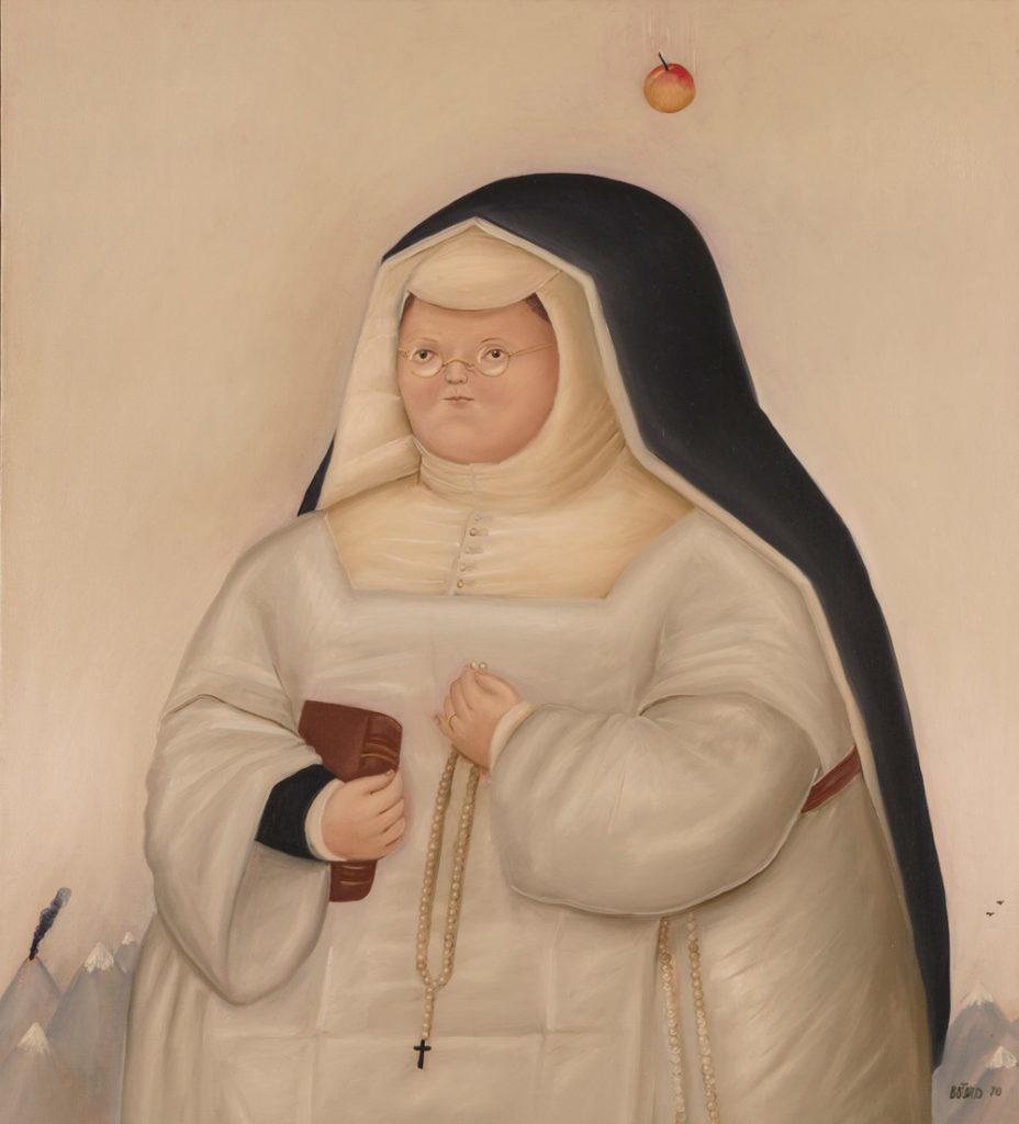 Fernando Botero, Temptation of Santa Rita