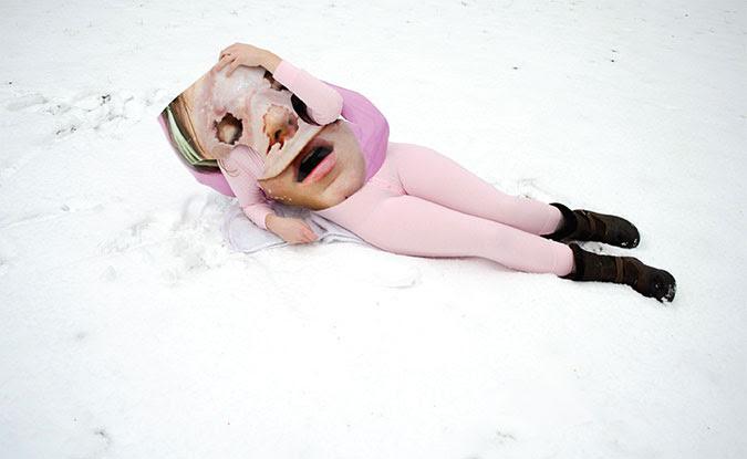 Trisha Holt, The Snow (Charlie White + Katy Grannan), 2012 Lightjet print, 30 x 40 inches