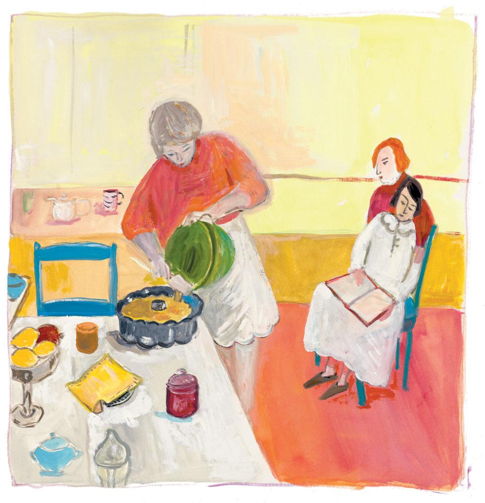 Maira Kalman, Baking Together, 2017