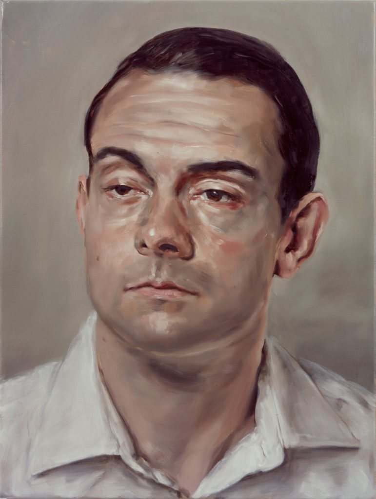 Michaël Borremans, Portrait, 2005