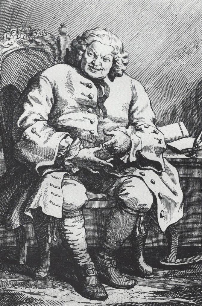 William Hogarth (English, 1697-1764) Simon, Lord Lovat, Etching (M.3), 1746
